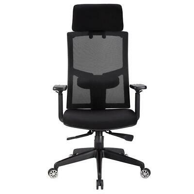 Racing Office Chair, Desk Gaming Chair Ergonomic Mesh Computer w Lumbar Support