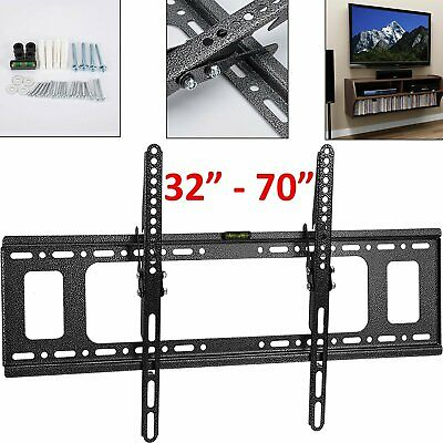 Supporto Staffa Parete Muro Inclinabile Tv Lcd Tft Led 32-70 Pollici