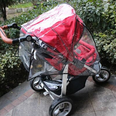 Waterproof Baby Universal Stroller Rain Cover Wind Dust Shield Pushchair Cover