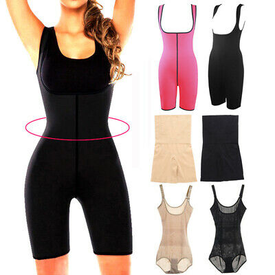 Women Compression Full Body Shaper Firm Control Tummy Underwear Shorts Jumpsuits