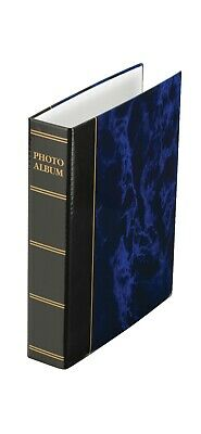 """Kenro Blue and Black Photo Storage Ringbinder with Holds 50 Pages 6x4"""" or 7x5"""""""