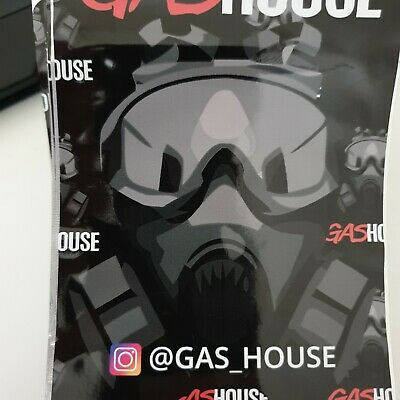 1x Gas House Mylar Bag Cali tin label CaliLabels
