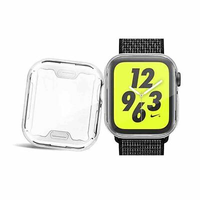 For Apple Watch iWatch 4 Screen Protective Case Cover Ultra Thin Clear Case 44MM