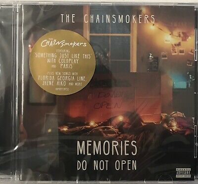 Memories...Do Not Open - The Chainsmokers[CD] New Sealed Free UKP&P
