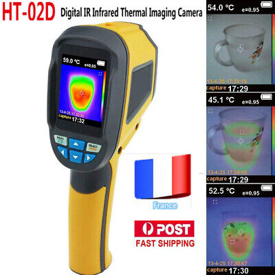 HT-02D Caméra D'imagerie Thermique Thermographie Infrarouge Imageur -20℃ to 300℃