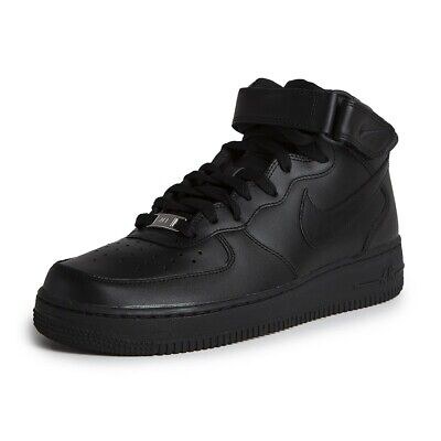 separation shoes f6db9 4b253 Nike Air Force 1 Mid Baskets Homme Noir Pointure 43 RCD315123001-43