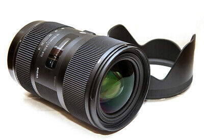 Sigma 18-35mm f/1.8 DC HSM Art Lens Canon EF Mount PX