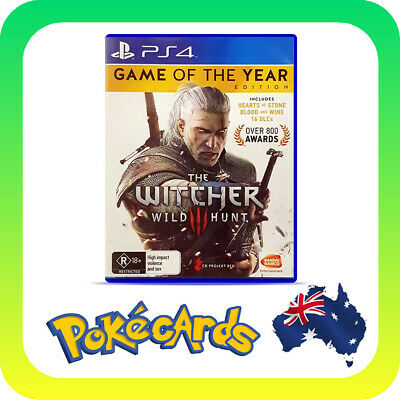 The Witcher 3 Wild Hunt Game Of The Year (GOTY) (PlayStation 4 PS4)