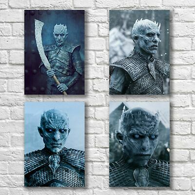 Game Of Thrones Poster A4 NEW Set GOT White Walkers Night King #1