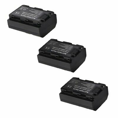 2280MAh 3X NP-FZ100 Battery&Dual LCD Charger for Sony A9 A7RIII A7III Camera XH