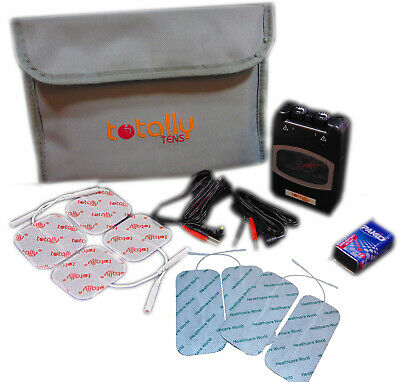 TENS Machine Analogue Dual Channel TPN Type by Totally TENS With Accessories