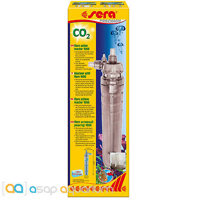 Sera Flore 1000 CO2 Reactor for Freshwater Planted Aquariums Fast Free USA Ship
