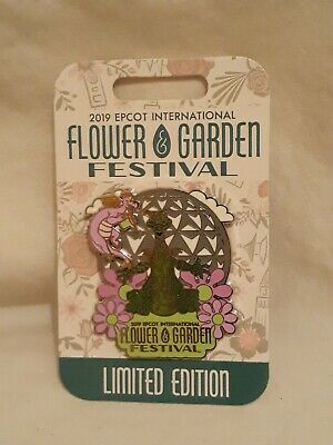 New Disney Parks Flower And Garden Festival 2019 Figment Pin Limited Edition