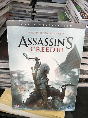 Assassin's Creed Iii Piggyback Guide Sealed Brand New