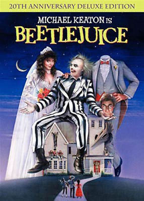 Beetlejuice (20th Anniversary Deluxe Edition) (DVD, 2008)