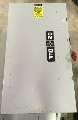 GE TH3365 Fusible Disconnect