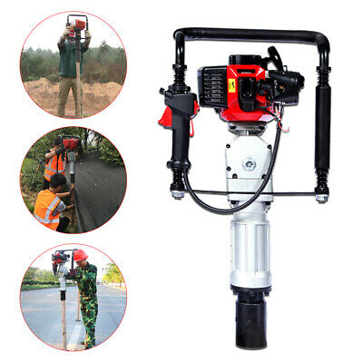 2 Stroke 52CC Post Pile Driver Fence Garden 55mm 70mm Head Gas Gasoline Petrol