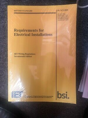 17th Edition Regs IET NIC NICEIC