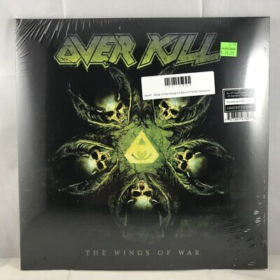 Overkill - Wings Of War Wings Of War 2LP NEW Colored Vinyl