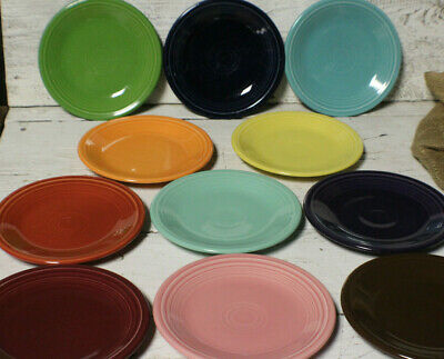 """Fiesta 7 1/4"""" Salad Plate Assorted Colors Some Retired Lead Free"""