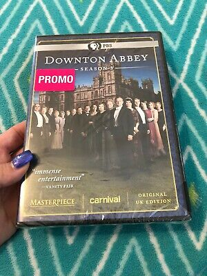 Downton Abbey: Season 3 Three - (DVD 3-Disc Set) NEW Sealed