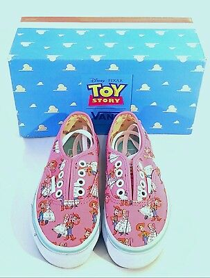 8ba1254d1cf Vans Girls Toy Story Woody Bo Peep Andy Shoes Sneakers Youth Size 11  Authentic!