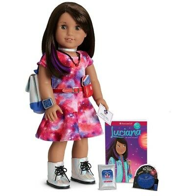 American Girl Doll Luciana Vega GOTY 2018 with Accessories New In Box!