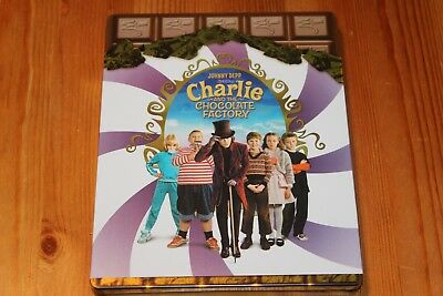 Charlie and the Chocolate Factory - Amazon France Exclusive Steelbook Blu-Ray