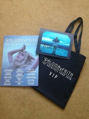 Paloma Faith - The Architect Tour VIP Package with Signed Photo