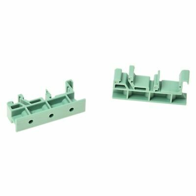 4X(PCB Circuit Board Mounting Bracket for mounting DIN rail mounting screw T1Y7)
