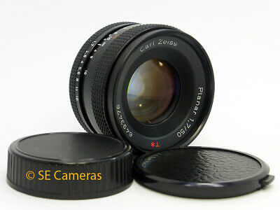 Carl Zeiss Planar 50Mm F1.7 T* Fast Prime Lens Contax Yashica Fit *v Good Cond*