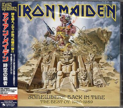 IRON MAIDEN - Somewhere Back In Time - The Best Of: 1980-1989 - CD - Japan 2008