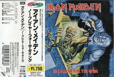 IRON MAIDEN - No prayer for the dying - CD - Japan 1995 - EMI ‎- TOCP 3065