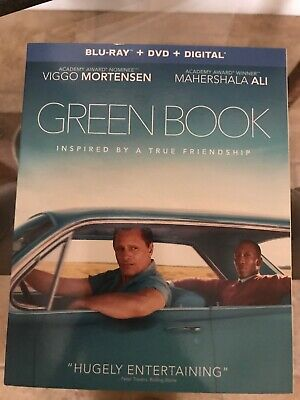 Green Book Blu Ray + DVD + Digital