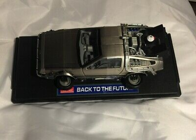 "Sun Star, DeLorean, ""Back to the Future""Time machine, Flying Version,1:18 scale"