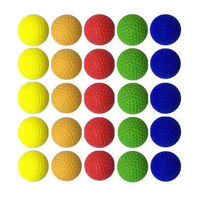 Foam Bullet Ball Replacement Refill 100pcs For Nerf Rival Zeus Apollo Toy Gun