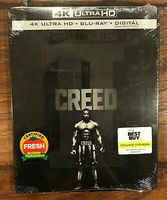 Creed II (4K UHD + Blu-ray) Best Buy Exclusive Steelbook (NO DIGITAL)