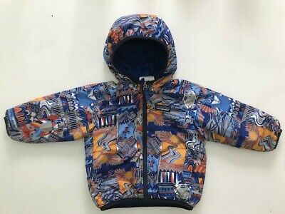 f04ea2241ba3 PATAGONIA REVERSIBLE PUFF Ball Jacket Toddler 4T Baby Warm Winter ...