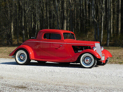"""1934 Ford 3-Window Coupe Street Rod, Resto Rod, Hot Rod ALL FORD!! F.I. 302; C-4; 8.8"""", A/C, BEAUTIFULLY DETAILED; 3"""" Chop (video)"""