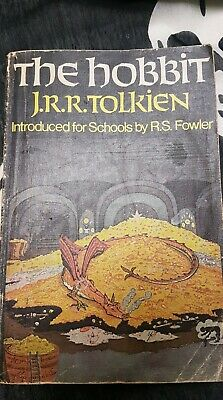 The Hobbit by J.R.R. Tolkien1972 vintage rare cover paperback for schools
