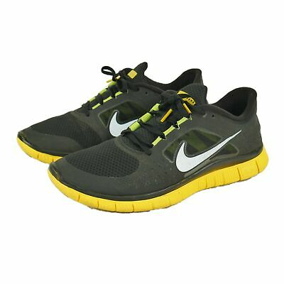 reputable site 575ea 4385c Nike Livestrong 5.0 Free Run +3 Running Shoes Black Yellow 511017-083 Mens  11.5