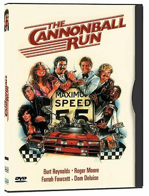 The Cannonball Run Burt Reynolds Farrah Fawcett NEW