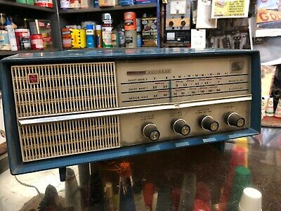 National Vintage Plastic 1950s 1960s Radio
