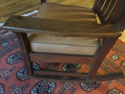Original L&JG STICKLEY Rocking Chair 1914 to 1918 Stickley Rocker