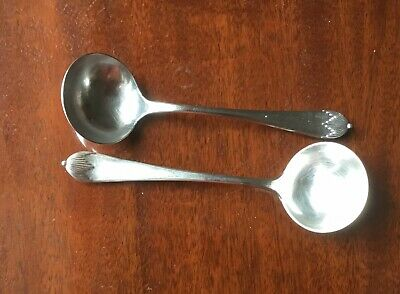 A Pair of Regency/Queen Anne  Sauce Ladles