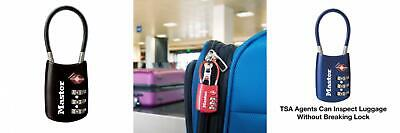 Master Lock 4688D Set Your Own Combination TSA Accepted Luggage 1 Pack...
