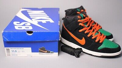 "f2a21968c81f Nike SB Dunk High ""Jagermeister"" Sz 11.5 RARE London Paris Pigeon Supreme"