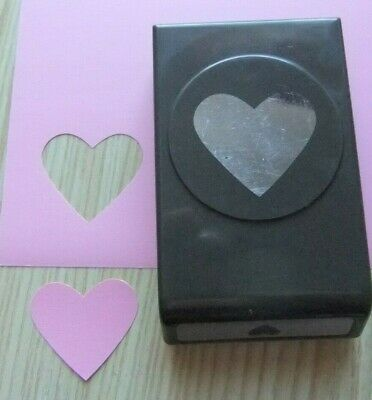 Stampin Up Paper Craft Punch ~Heart Punch~ O1