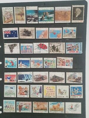 stamps  australia   -  used  -  Lot 592