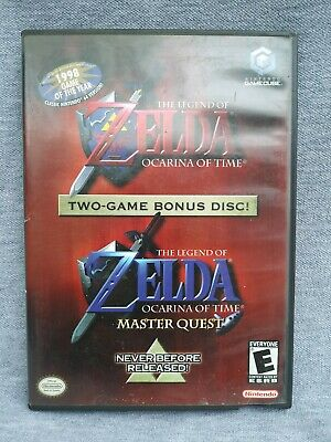 The Legend of Zelda: Ocarina of Time Master Quest (Nintendo GameCube)